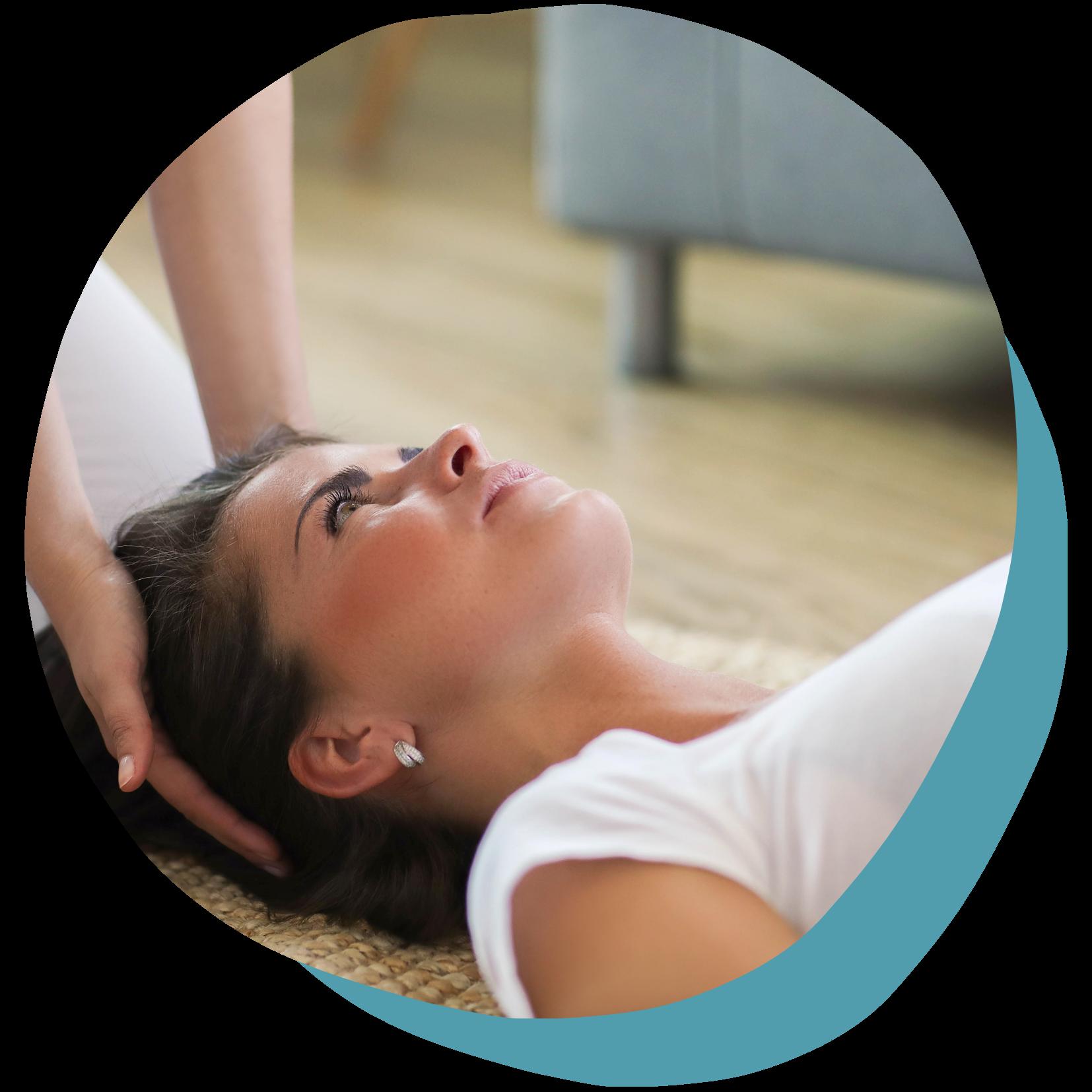 Image massage au sol