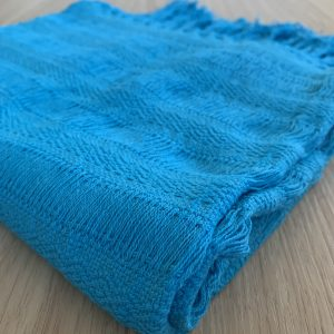 rebozo turquoise