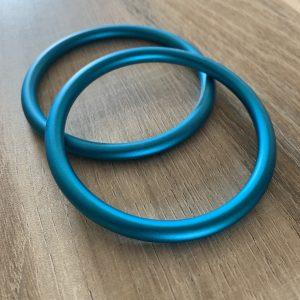 Anneaux de portage bleu